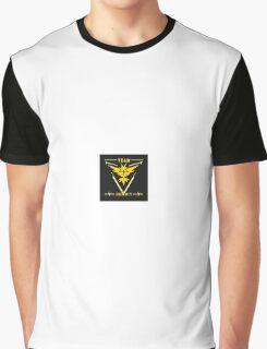 Pokemon Go Team Instinct/ Yellow Team Graphic T-Shirt