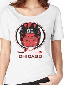 Chicago Hockey T-Shirt Women's Relaxed Fit T-Shirt