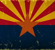 Arizona State Flag VINTAGE by Carolina Swagger