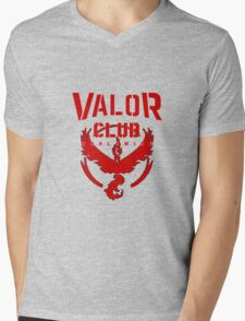 Valor Club Pokemon Go Mens V-Neck T-Shirt