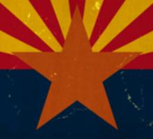 Arizona State Flag VINTAGE Sticker