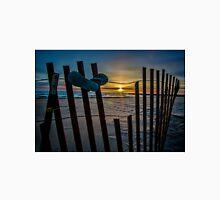 Flip Flops on a dune fence Unisex T-Shirt