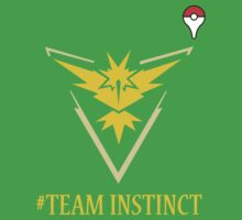 Team Instinct Pokemon Go  Baby Tee