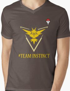 Team Instinct Pokemon Go  Mens V-Neck T-Shirt