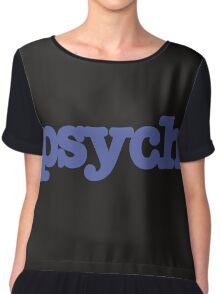 PSYCH Chiffon Top