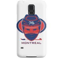 Montreal Hockey T-Shirt Samsung Galaxy Case/Skin