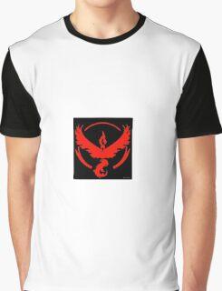Pokemon Go Team Valor (Red Team) Graphic T-Shirt