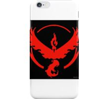 Pokemon Go Team Valor (Red Team) iPhone Case/Skin
