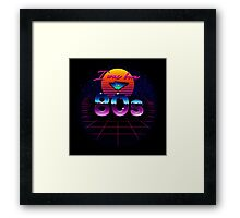 I was born in 80s Framed Print