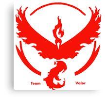 Team Valor Pokemon GO awesome merchandise! Canvas Print
