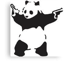 Stop Racism Be Like Panda Canvas Print