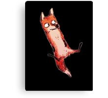 Awkward Fox Canvas Print