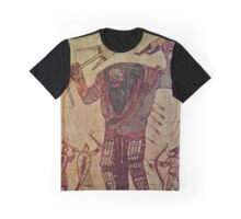 The Witcher: Ice Giant Battle Graphic T-Shirt
