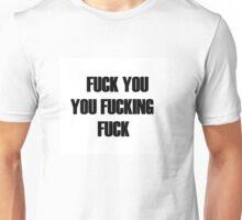Shameless lip t-shirt fuck Unisex T-Shirt