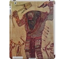 The Witcher: Ice Giant Battle iPad Case/Skin