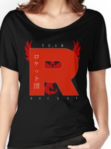 Team Rocket GO! Women's Relaxed Fit T-Shirt
