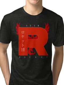 Team Rocket GO! Tri-blend T-Shirt
