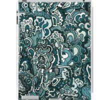 Gray Scale Doodle iPad Case/Skin