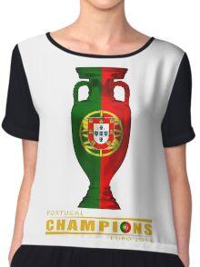 PORTUGAL, CHAMPIONS, EURO 2016 Chiffon Top