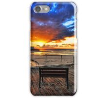 The bench is waiting for ya ! iPhone Case/Skin