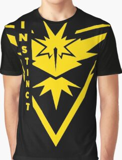 Pokemon Go - Team Instinct (Team Yellow) - Vertical Graphic T-Shirt