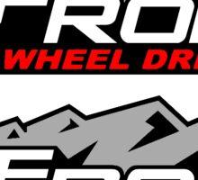 Off Road 4 Wheel Drive Sticker
