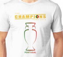 PORTUGAL EURO 2016, CHAMPIONS Unisex T-Shirt