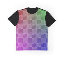 UV Grid Graphic T-Shirt