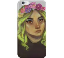 Flower Crowns Are Cool iPhone Case/Skin