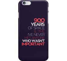 900 Years of the Doctor iPhone Case/Skin
