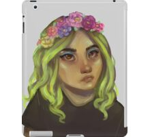 Flower Crowns Are Cool iPad Case/Skin