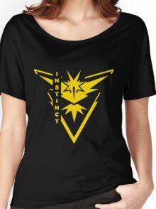 Pokemon Go - Team Instinct (Team Yellow) - Vertical Women's Relaxed Fit T-Shirt
