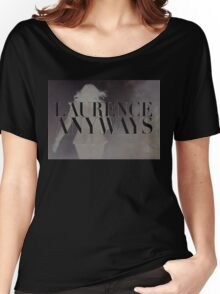 LAURENCE ANYWAYS logo (Xavier Dolan) Women's Relaxed Fit T-Shirt