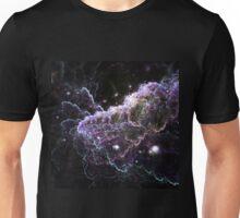 Purple Cloud - Abstract Fractal Artwork Unisex T-Shirt