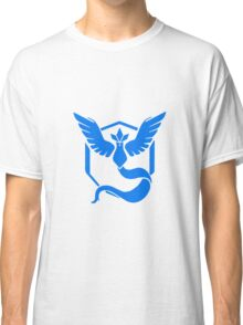 Pokemon Go Team Mystic (Blue Team) Classic T-Shirt
