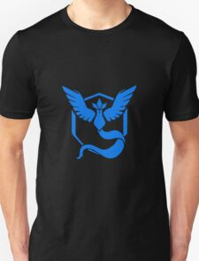 Pokemon Go Team Mystic (Blue Team) Unisex T-Shirt