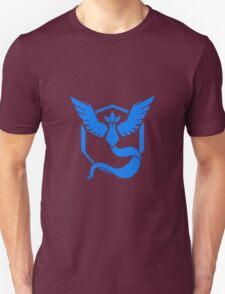 Pokemon Go Team Mystic (Blue Team) Unisex T-Shirt