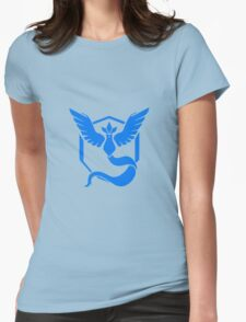 Pokemon Go Team Mystic (Blue Team) Womens Fitted T-Shirt