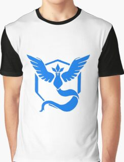 Pokemon Go Team Mystic (Blue Team) Graphic T-Shirt