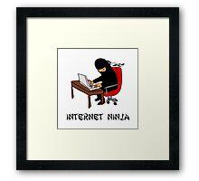Internet Ninja Framed Print