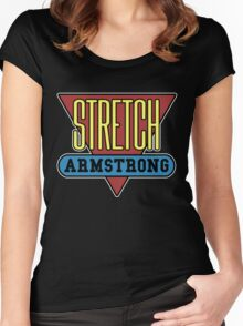 Stretch Armstrong Women's Fitted Scoop T-Shirt