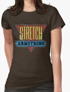 Stretch Armstrong Womens Fitted T-Shirt