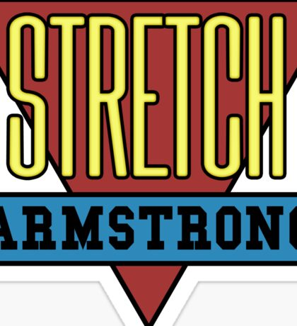 Stretch Armstrong Sticker