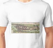 Haderslev Vintage map.Geography Netherlands ,city view,building,political,Lithography,historical fashion,geo design,Cartography,Country,Science,history,urban Unisex T-Shirt