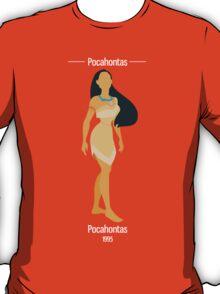 Pocahontas Illustration T-Shirt