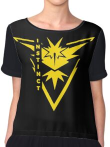 Pokemon Go - Team Instinct (Team Yellow) - Vertical Chiffon Top