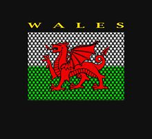 WALES, STAR Unisex T-Shirt