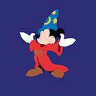 Fantasia Mickey Illustration by realGabe