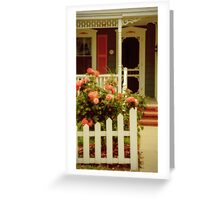A Seaside Cottage Greeting Card
