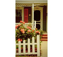 A Seaside Cottage Photographic Print